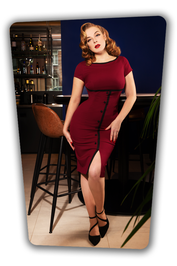 Glamour_Bunny_34729_Pencildress_Joice_Red_Buttondown_20200107_0073