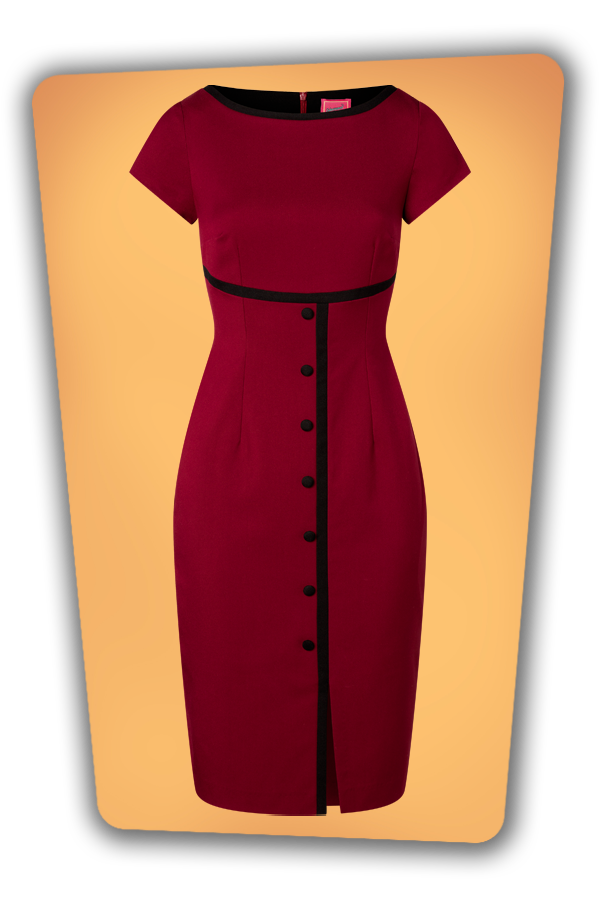 Glamour_Bunny_34729_Pencildress_Joice_Red_Buttondown_20200525_009