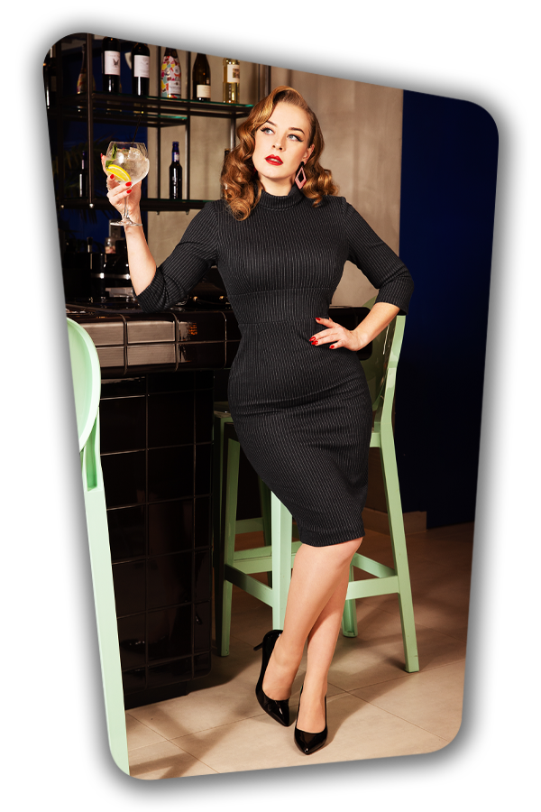 Glamour_Bunny_34730_Secretary Pinstripe Pencil Dress_20200107_0260
