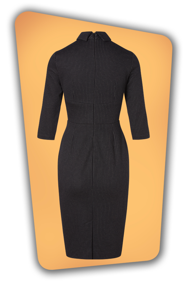 Glamour_Bunny_34730_Secretary Pinstripe Pencil Dress_20200525_012